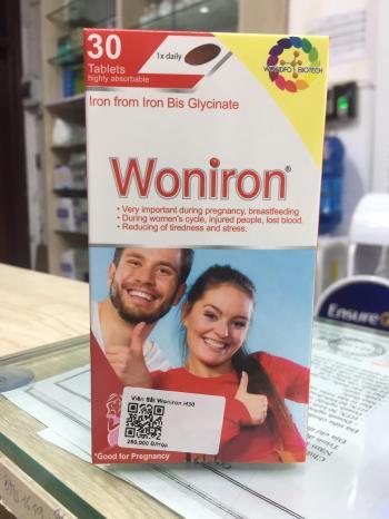 Woniron - Giúp bổ sung sắt hữu cơ của Thụy Sỹ
