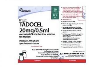 TADOCEL 20mg/0.5ml CỦA  ACTAVIS