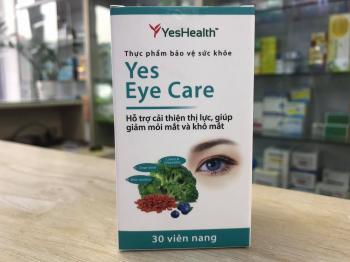 YES EYE CARE (Viên uống hỗ trợ mắt)